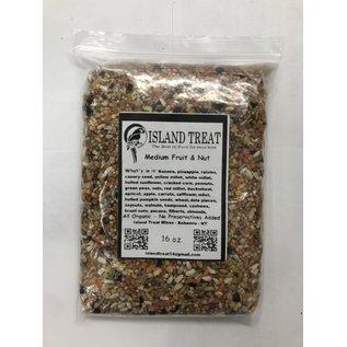 Island Treat Medium Fruit & Nut 16 oz.