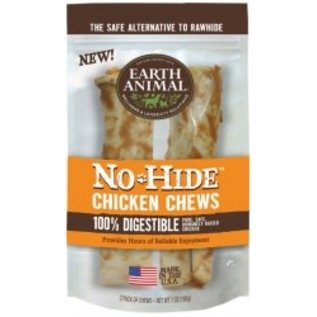 "EARTH ANIMAL EARTH ANIMAL DOG NO HIDE CHICKEN 7"" 2PK"