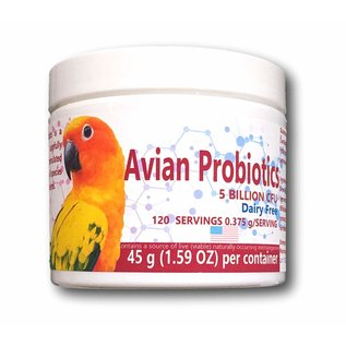 AVIAN PROBIOTICS - 1.59 OZ (45 GR - 120 Servings)