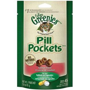 Greenies Cat Pill Pocket Salmon 1.6oz Pouch