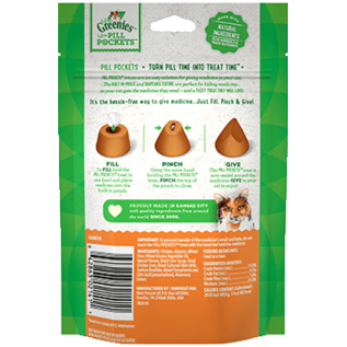 MARS PETCARE-GREENIES Greenies Pill Pockets Cat Chicken 1.6 oz.