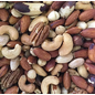 Roasted Unsalted Out of the Shell Deluxe Mixed Nuts 1# Bulk