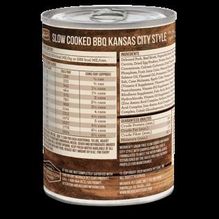 MERRICK DOG SLOW-COOKED GRAIN FREE KANSAS STYLE PORK 12/12.7OZ CASE