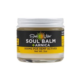 SUPER SNOUT HEMP SOUL VIBE SOUL BALM + ARNICA 500MG BROAD SPECTRUM TOPICAL FOR HUMANS