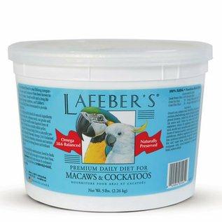 LAFEBER COMPANY LAFEBER MACAW & COCKATOO PELLETS 5# TUB