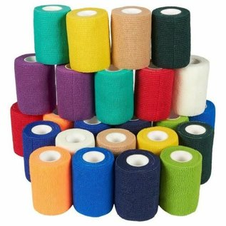"Vet Wrap 3"" x 15' Assorted Colors"
