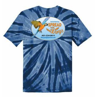 Jungle Junction Tee Spread Your Wings Royal TD XL