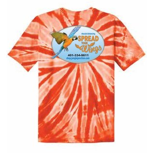 Jungle Junction Tee Spread Your Wings Orange TD Medium