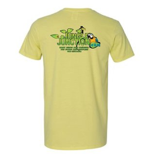 Jungle Junction Tee Shirt Cornsilk Color Medium