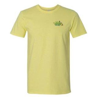 Jungle Junction Tee Shirt Cornsilk Color Large