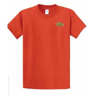 Jungle Junction Tee Spread Your Wings Orange Large