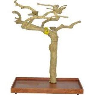 "A&E Cage Java Wood Tree Stand Medium 38""x24""x61"""