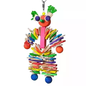 King's Cages Kings Leather Man Bird Toy