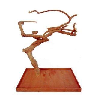A&E Cage Java Wood Tree Stand Medium 48″ x 28″ x 66″
