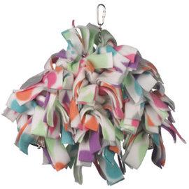 Casa La Parrot Triple Fleece Dinger With Bells Assorted Colors