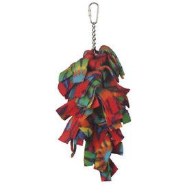 Casa La Parrot Single Fleece Dinger With Bell Assorted Colors