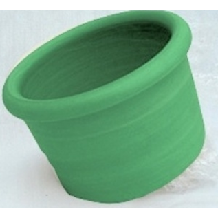 Mango 00 Crock - Lime Green Plastic  8 oz.