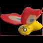 YEOWWW Yeowww! Catnip Red Butterfly Toy