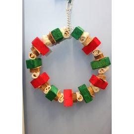 "Massive Ring 11"" Christmas Wreath XMAS"