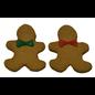 Preppy Puppy Gingerbread Man Dog Treat