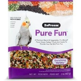 Zupreem Pure Fun Bird Food for Medium Birds 2#