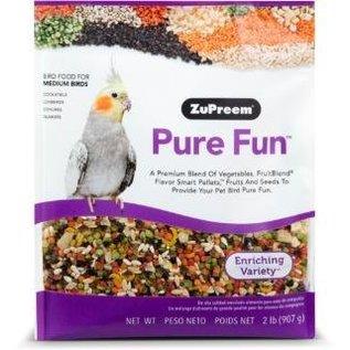 Zupreem Pure Fun Bird Food for Medium Birds 2#