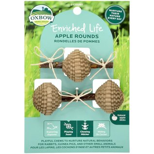 OXBOW Oxbow Enriched Life Apple Rounds Chew