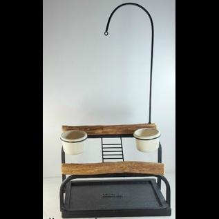 Mango Deluxe Traveler Table Top - Textured Black