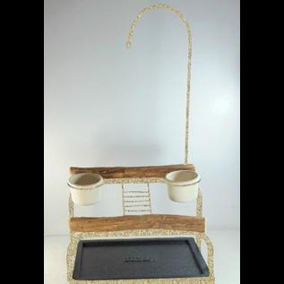 Mango Deluxe Traveler Table Top - Textured Desert Stone