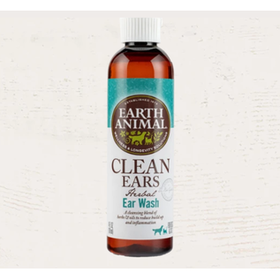 EARTH ANIMAL Earth Animal Clean Ears Ear Wash 4OZ Bottle