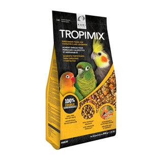 HARI Tropimix Lovebird/Cockatiel Premium Formula, 2 lb, standup zipper bag