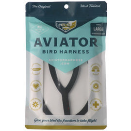 AVIATOR HARNESS - XX Large - BLACK
