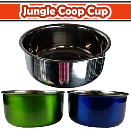 A&E Cage 30oz Coop Cup W/Ring /Bolt Color Box Stainless
