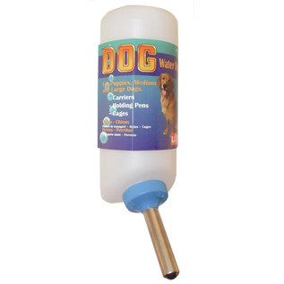 LIXIT ANIMAL CARE PROD Lixit Dog Water Bottle White 32 oz.