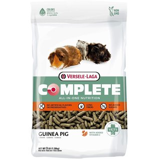 Versele-Laga Complete All-In-One Nutrition Complete Guinea Pig Food, 3-lb bag