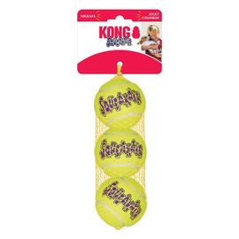 KONG Kong Air Squeaker Ball Medium 3 Pack