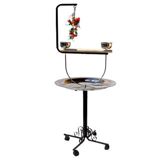"""King's Cages King's  B-72T Metal Playstand w/ Toy Hook 28""""x51""""x65"""""""