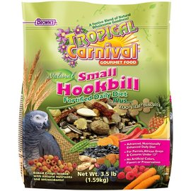 FM Brown's Tropical Carnival Natural Small Hookbill Food 3.5 Lb