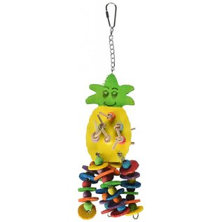 CAITEC Caitec  4 by 12-Inch Pineapple Pet Toy, Medium