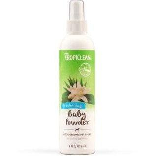Tropiclean Baby Powder Freshening Pet Spray 8 oz.
