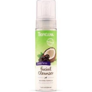 Tropiclean Waterless Facial Cleanser 7.4Z