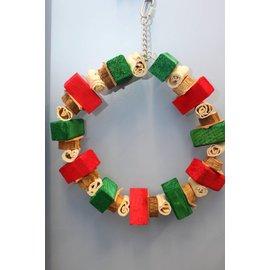 "Massive Ring 16"" Christmas Wreath XMAS"