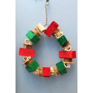 "Massive Ring 8"" Christmas Wreath XMAS"
