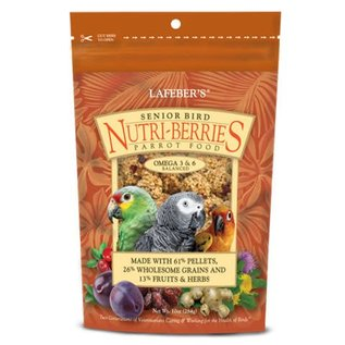 LAFEBER COMPANY Lafeber Senior Bird Nutri-Berries Parrot Food 10oz