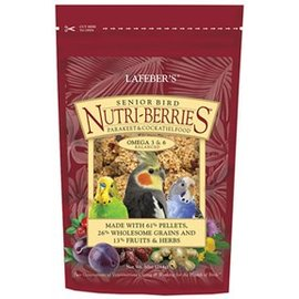 LAFEBER COMPANY LAFEBER SENIOR BIRD NUTRI-BERRIES-COCKATIEL-10OZ