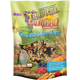 F.M. Brown's Tropical Carnival Natural Tiel/Lovebird 3.5# *REPL 423601