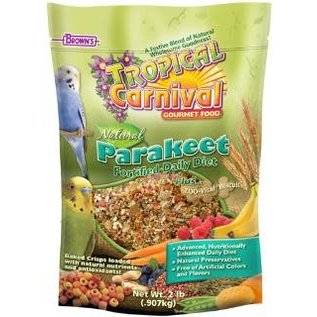 F.M. Brown's Tropical Carnival Natural Keet Food 2# *REPL 423602