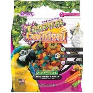 F.M. Brown's Zoo Vital Parrot/Macaw Food 3# *REPL 423277