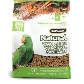 ZUPREEM NATURAL MEDIUM/LARGE 3#