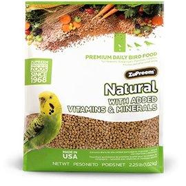 ZuPreem Natural Parakeets 2.25lb